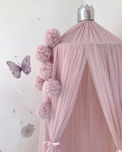 Load image into Gallery viewer, Spinkie Pom Garland - Pale Rose