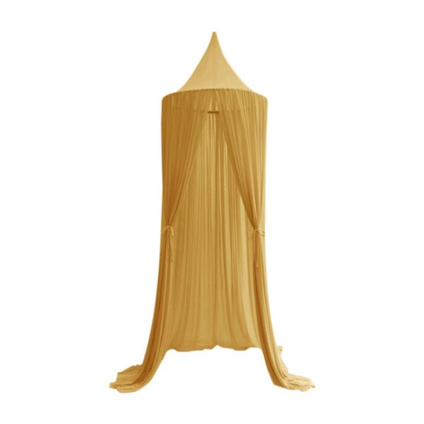 Spinkie Sheer Canopy - Mustard Yellow