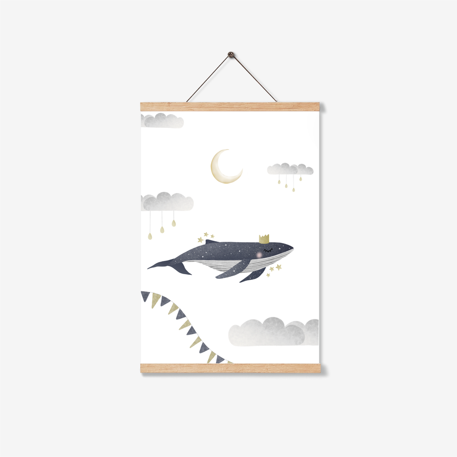 Starry Whale Print