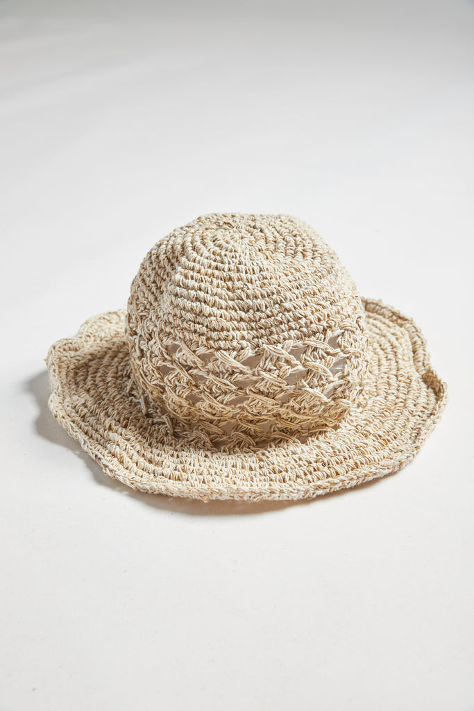 Numbat Crochet Hemp Sunhat