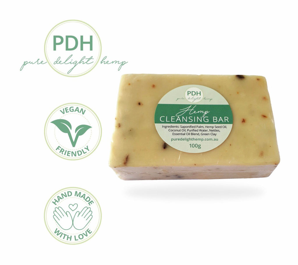 Pure Delight Hemp Cleansing Bar