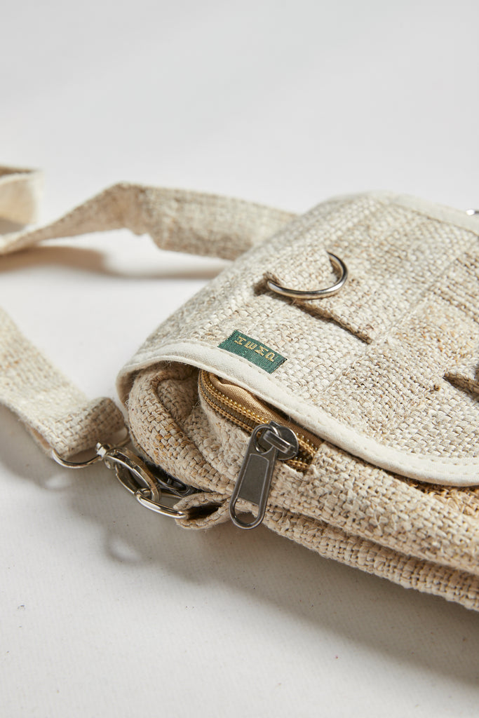 Wild Hemp Passport Bag