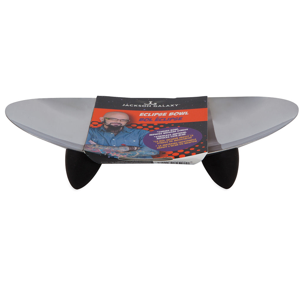 JACKSON GALAXY Whisker Stress Eclipse Bowl