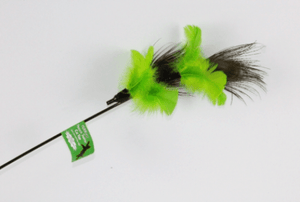 VEE ENTERPRISES Purrfect Peacock Feather Toy