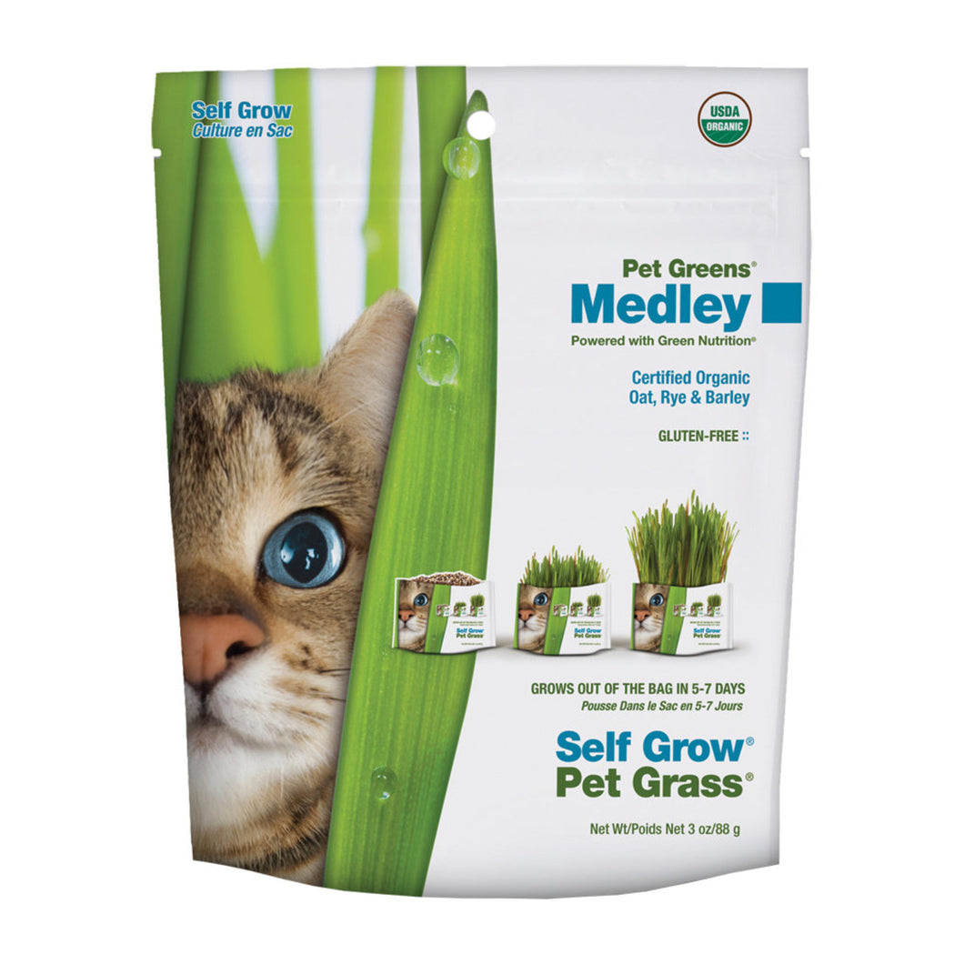 PET GREENS Self Grow Medley Garden Kit