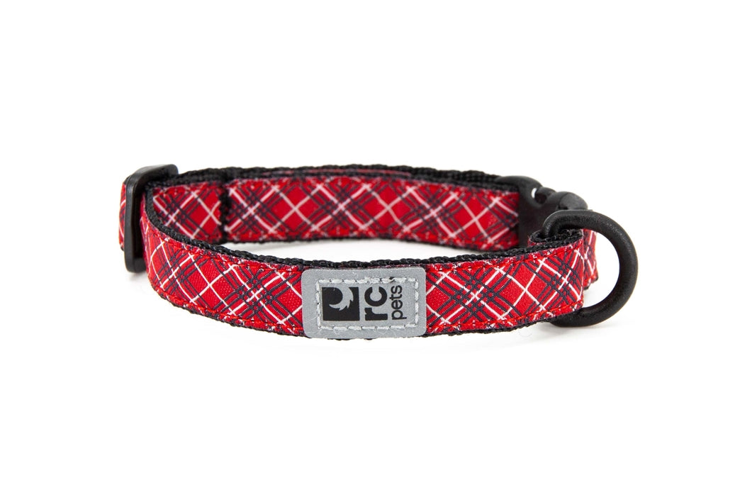 RC PETS Breakaway Collar Red Tartan
