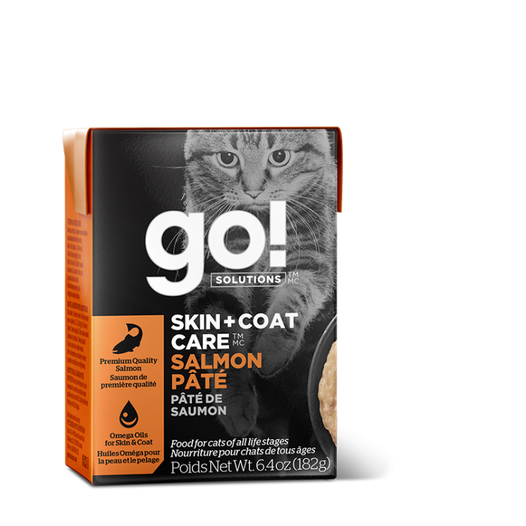 GO! Skin + Coat Care Salmon Pate Tetra, 181g