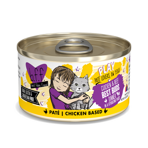 BFF Play Pate Chicken & Beef Best Buds, 2.8oz