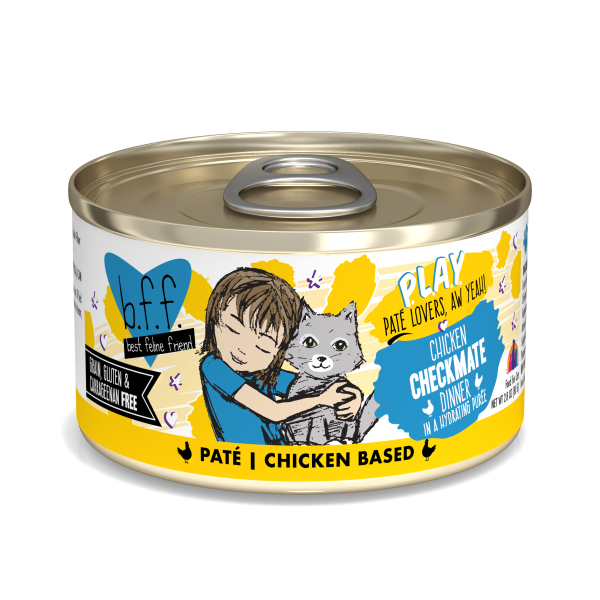 BFF Play Pate Chicken Check Mate, 2.8oz