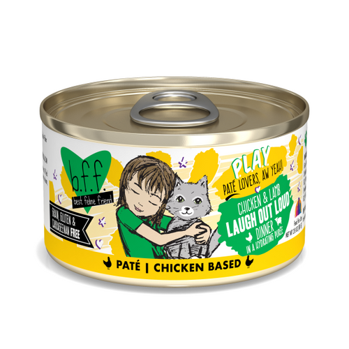 BFF Play Pate Chicken & Lamb Laugh Out Loud, 5.5oz