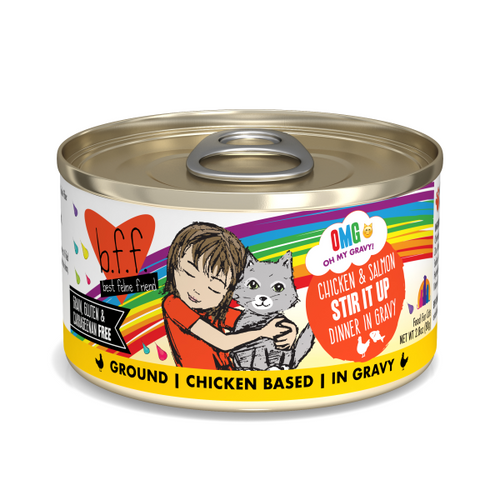 BFF OMG Chicken & Salmon Stir It Up, 2.8oz