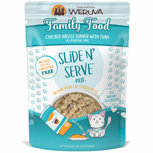 WERUVA Slide N' Serve Pâté Family Food, 80g Pouch