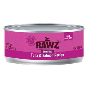 RAWZ Shredded Tuna & Salmon Recipe, 155g