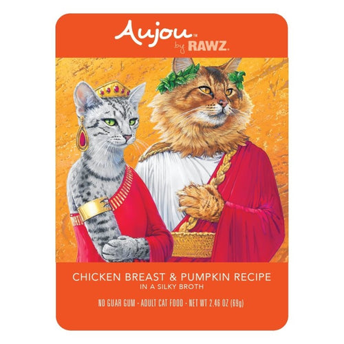 AUJOU by RAWZ Chicken Breast & Pumpkin, 69g