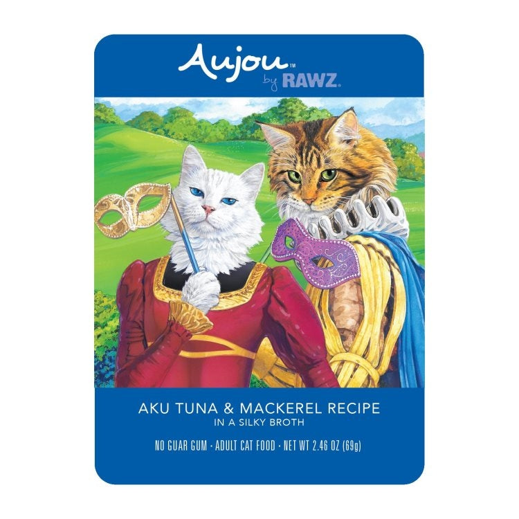 AUJOU by RAWZ Aku Tuna & Mackerel, 69g