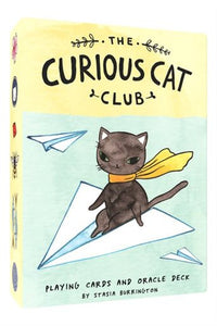 STASIA BURRINGTON  The Curious Cat Club Card Deck