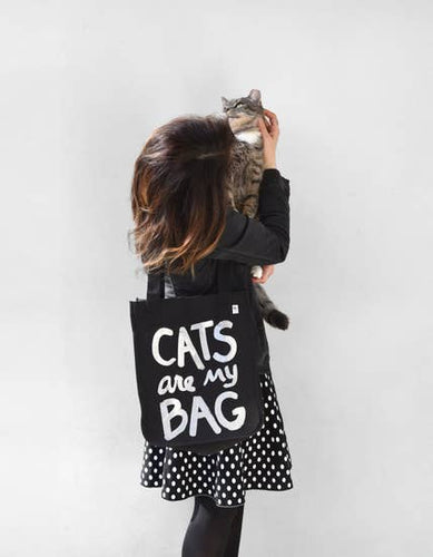 XENOTEES Cats Are My Bag Tote