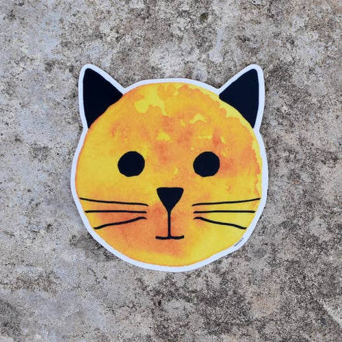 XENOTEES Sun Cat Sticker