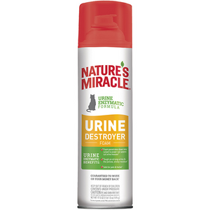 NATURE'S MIRACLE Urine Destroyer Foam 17.5oz