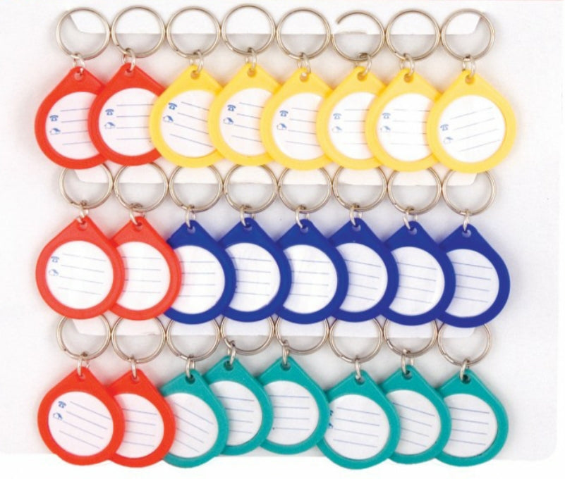 BURGHAM I.D. Tags, assorted colours