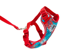RC PETS Adventure Kitty Harness w/Leash Maldives, small