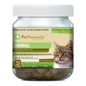 PET NATURALS Hairball Chews, 70 count