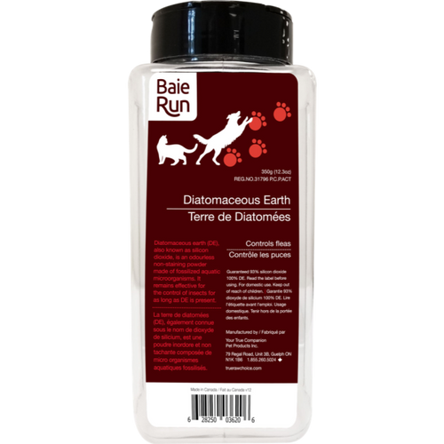 BAIE RUN Diatomaceous Earth. 350g