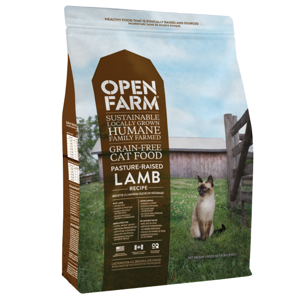 OPEN FARM Pasture-Raised Lamb Dry Food, 1.8kg
