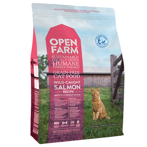 OPEN FARM Wild Salmon, 4lb