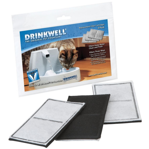 PETSAFE Drinkwell Filter Standard, 3 pack