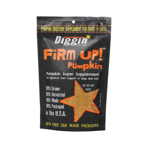 DIGGIN Firm Up Pumpkin Supplement, 113g