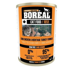 BOREAL Cobb Chicken & Heritage Turkey Formula, 369g