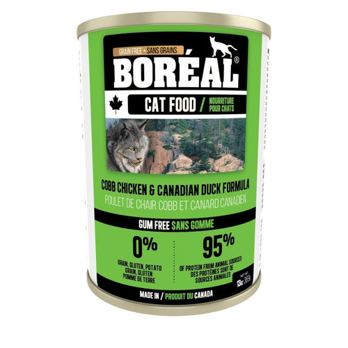 BOREAL Cobb Chicken & Canadian Duck Formula, 369g *CASE (12 cans)*
