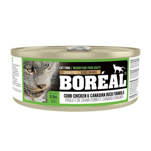 BOREAL Cobb Chicken & Canadian Duck Formula, 156g