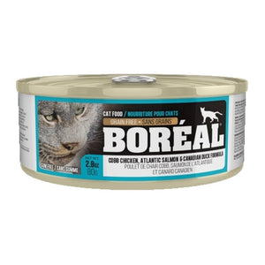 BOREAL Cobb Chicken, Atlantic Salmon & Canadian Duck, 80g