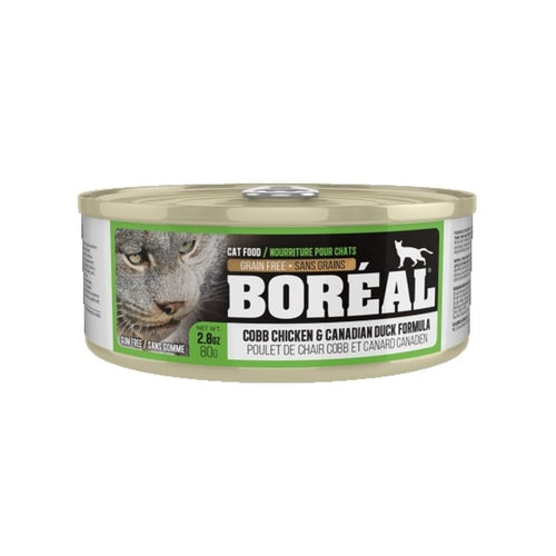 BOREAL Cobb Chicken & Canadian Duck, 80g