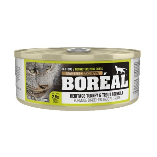 BOREAL Heritage Turkey & Trout, 80g