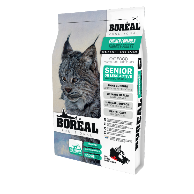 BOREAL Functional Senior Cat Formula Chicken, 2.26kg