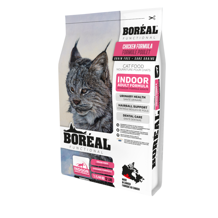 BOREAL Functional Indoor Adult Formula Chicken, 5.44kg