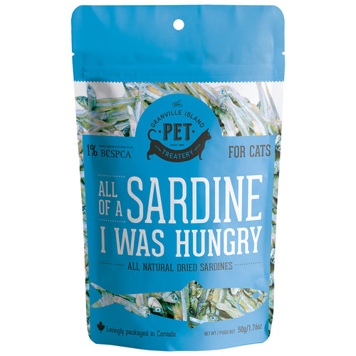 GRANVILLE ISLAND PET TREATERY All Of A Sardine I Was Hungry, 50g
