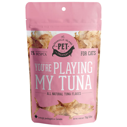 GRANVILLE ISLAND PET TREATERY You're Playing My Tuna, 15g