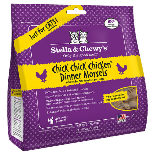 STELLA & CHEWY'S Freeze-Dried Dinner Morsels Chick Chick Chicken Dinner, 99g