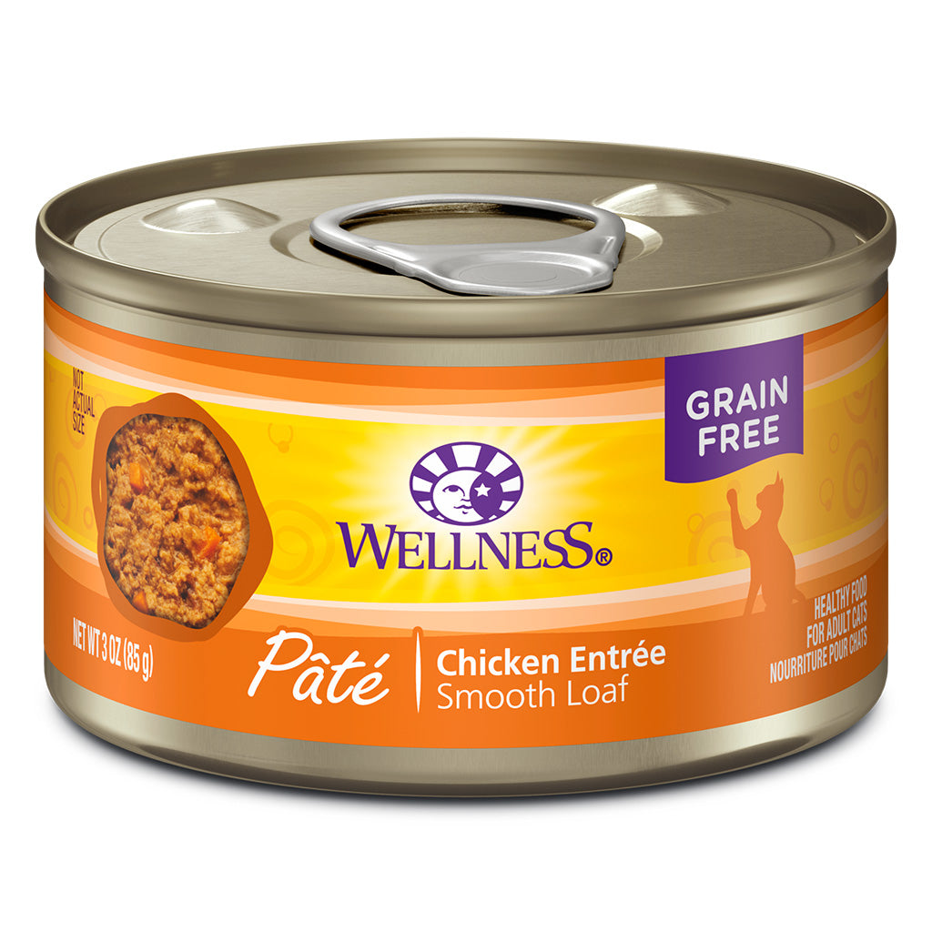 WELLNESS Complete Health Chicken Entree Pâté, 85g