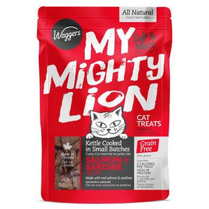 MY MIGHTY LION Salmon & Sardine, 75g