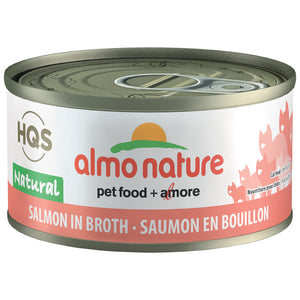 ALMO Natural Salmon In Broth, 70g