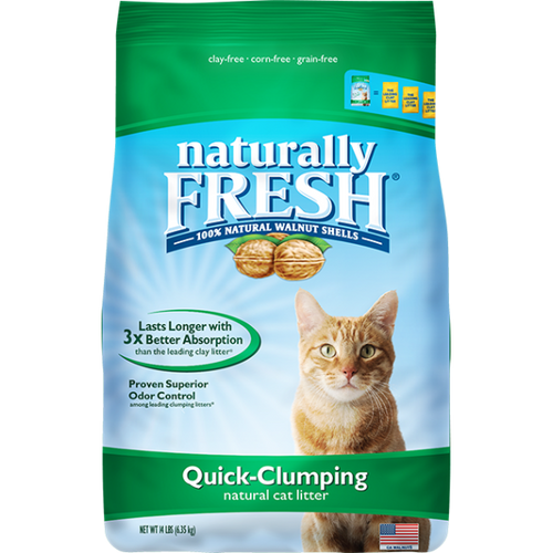 NATURALLY FRESH Quick-Clumping Litter 14lb