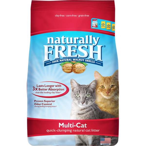 NATURALLY FRESH Multi-Cat Quick-Clumping Litter 26lb