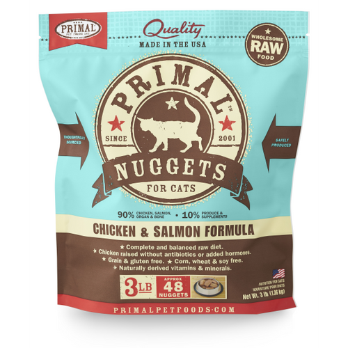 PRIMAL Chicken & Salmon Nuggets, 3lbs