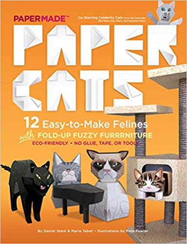Paper Cats: 12 Easy-to-Make Felines, by Daniel Stark & Maria Tabet