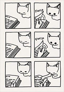 JEFFREY BROWN Cat Companion Flexi Journal